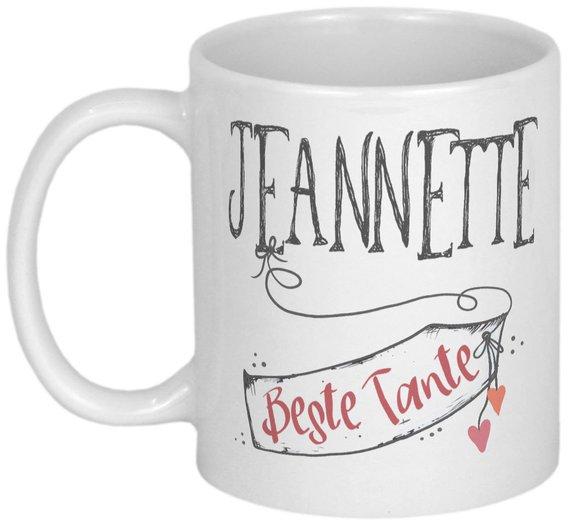 Beste Tante Geschenk Tasse