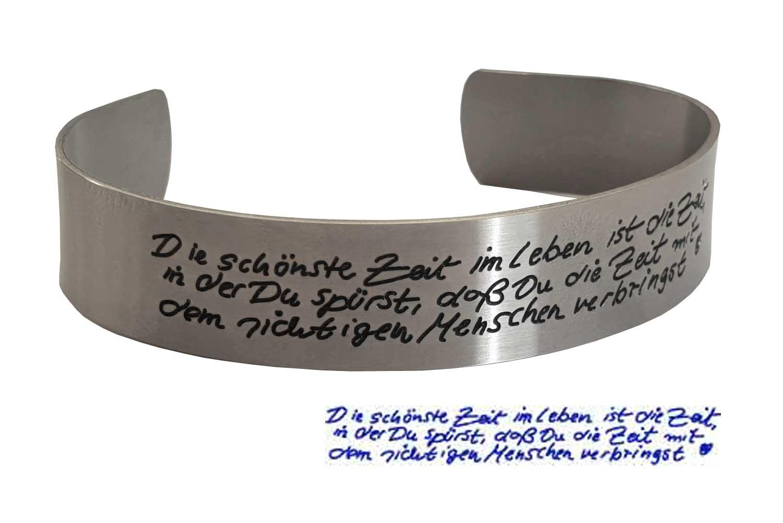 armband mit gravur geschenkideen f r m nner. Black Bedroom Furniture Sets. Home Design Ideas
