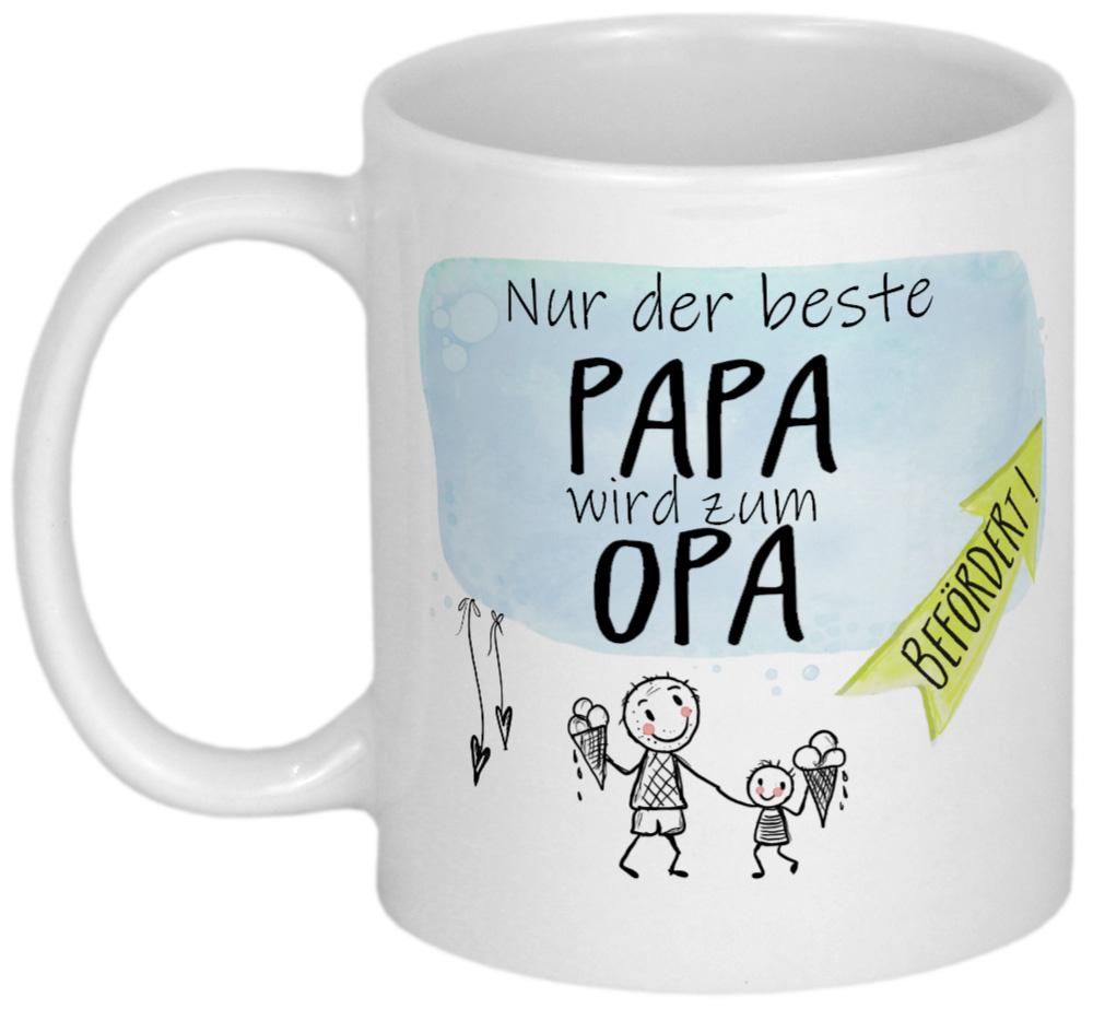 Geschenk für werdenden Opa - Personalisierte Geschenke von