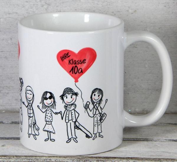geschenkidee lehrer und lehrerin abschied tasse personalisierte geschenke von my sweetheart